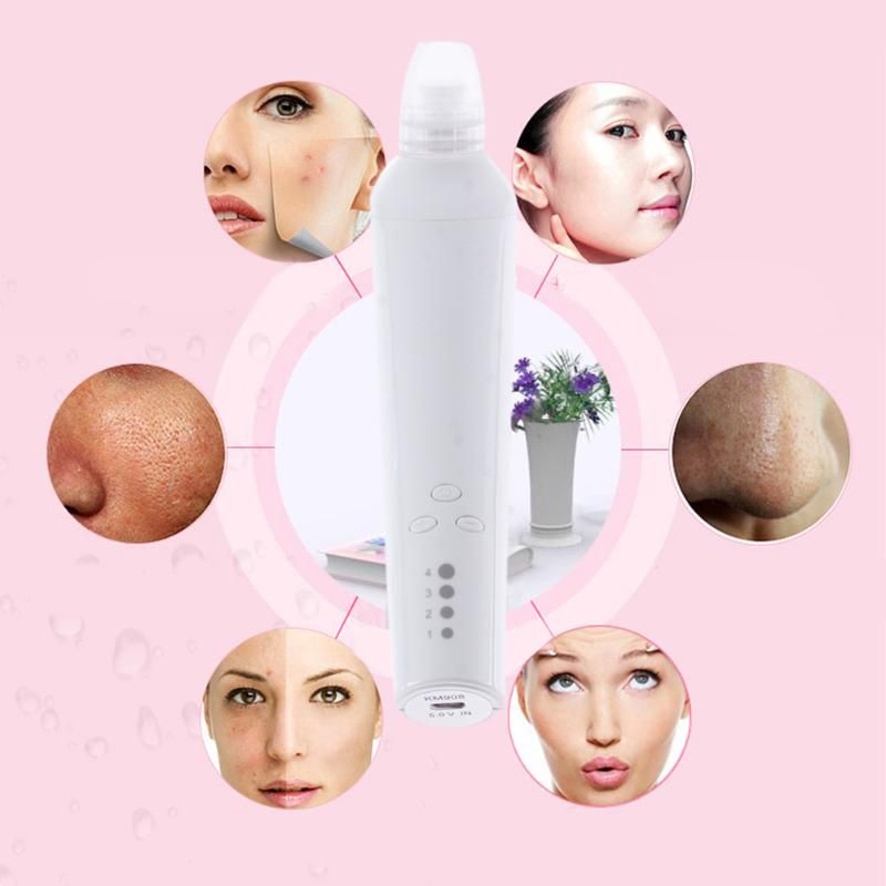 Facial Pore Vacuum Blackhead and Comedone Remover Machine Acne <font><b>Extractor</b></font> Cleanser Skin Peeling Face Blackhead Blemish Removers