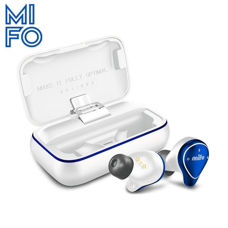 Mifo O5 Begrenzte Bluetooth 5,0 Drahtlose Kopfhörer IPX7 Wasserdichte Drahtlose Ohrhörer HiFi stereo Bluetooth Kopfhörer für telefon