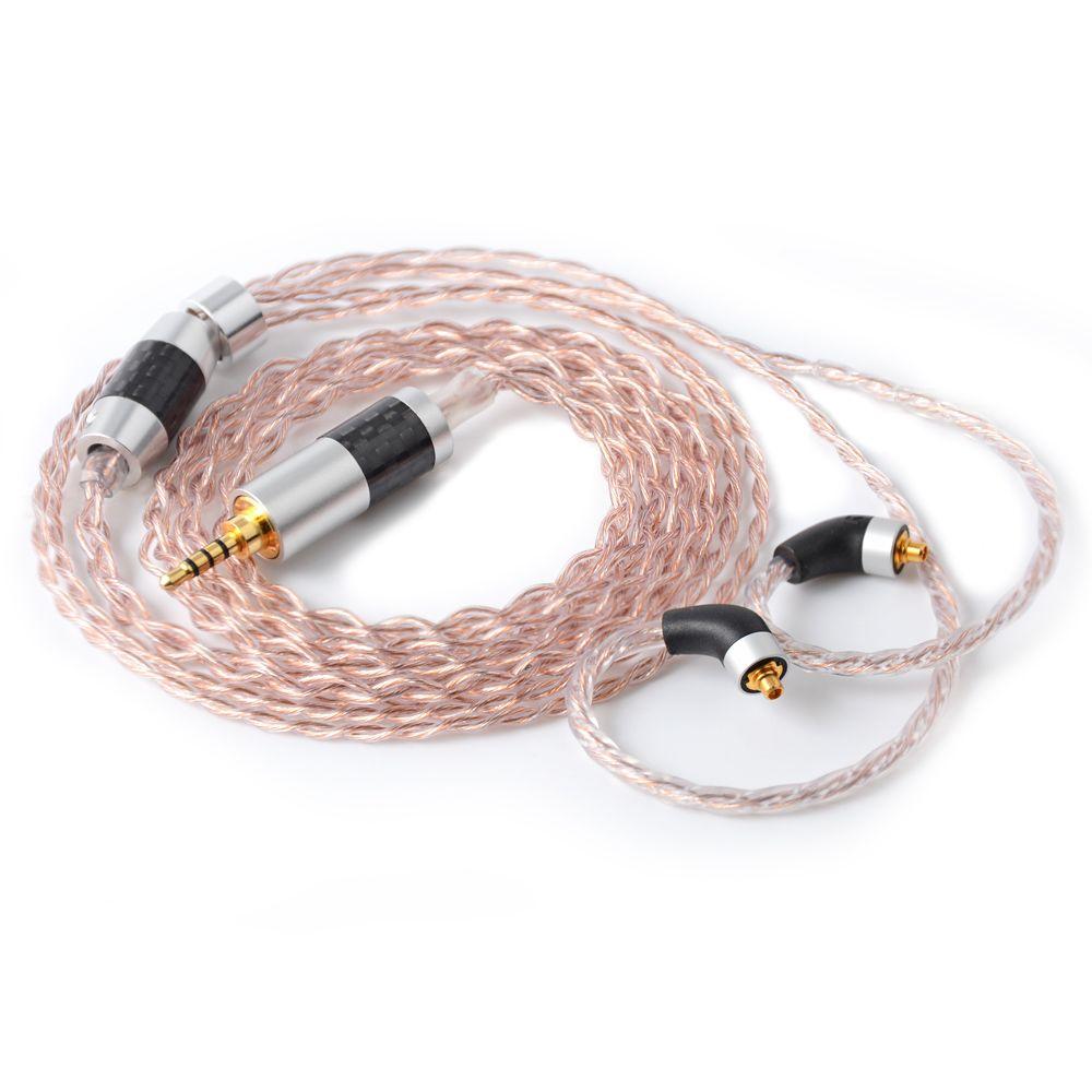 High-end-NICEHCK 3,5/2,5/4,4mm Ausgewogene MMCX Anschluss 7N UPOCC Gemischt 7N UPOCC Silber Überzogene kabel Für SE846 LZ A6 NICEHCK M6