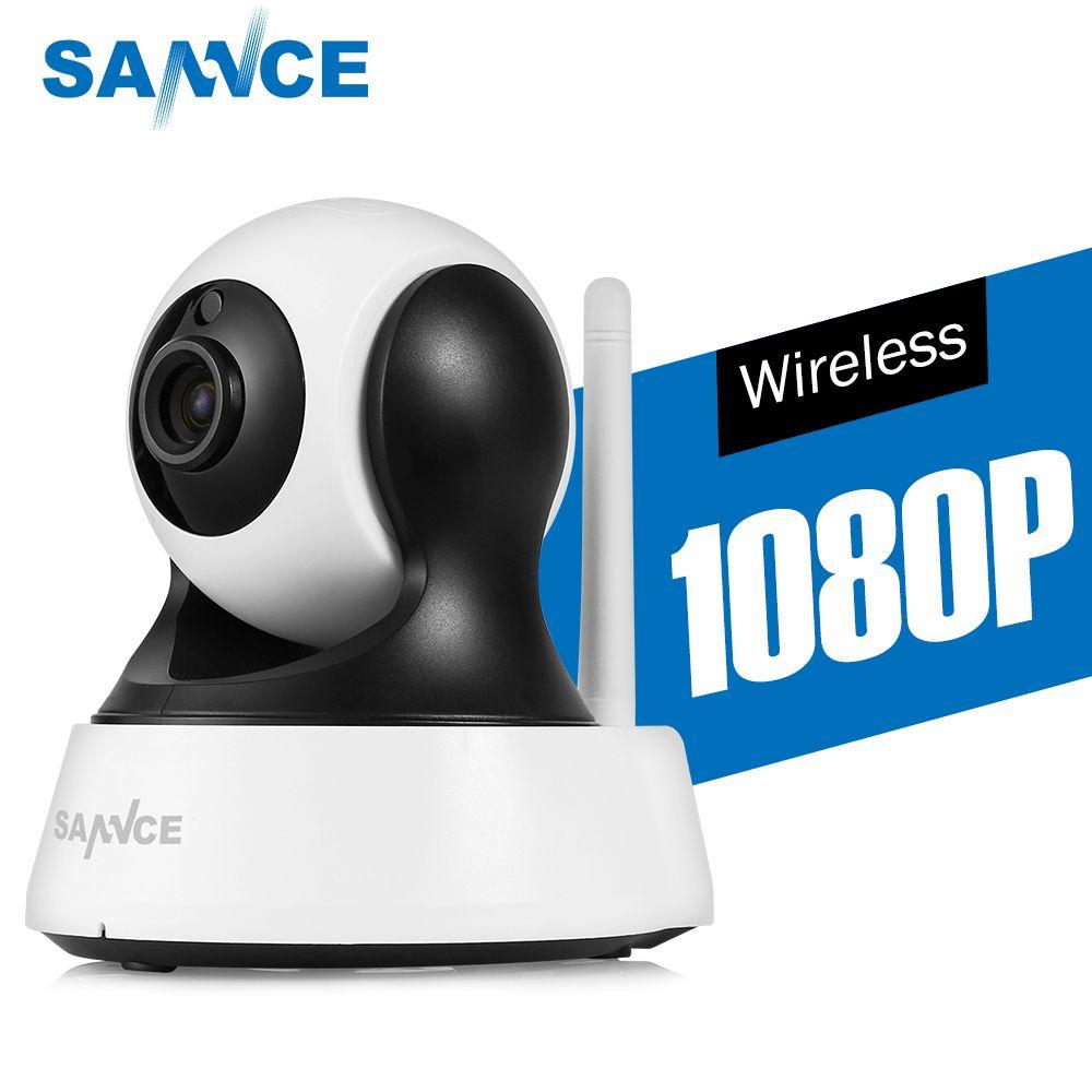 SANNCE 1080 p HD CCTV IP Kamera IR Cut Tag/Nacht Vision P2P Indoor 2MP Drahtlose wifi Sicherheit Kamera baby Überwachung Monitor