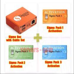 Más nuevo 100% Original Sigma box + 9 Cable Pack1 + Pack2 + Pack3 nueva actualización para huawei