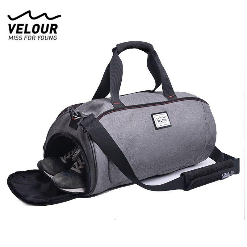 Waterproof Shoulder Sports Gym Bag for Shoes Bags Women Fitness Yoga Training Men Gymtas tassen 2018 Sac De Sport Tas X584YL