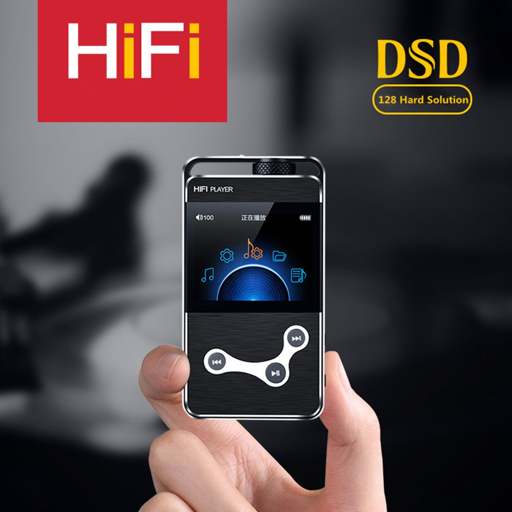 Newest DIY ZIKU HK-X9 2.4 inch Screen Lossless Music MP3 HiFi Music Player Support Headphone Amp/Mobile OTG DSD128 hard solution