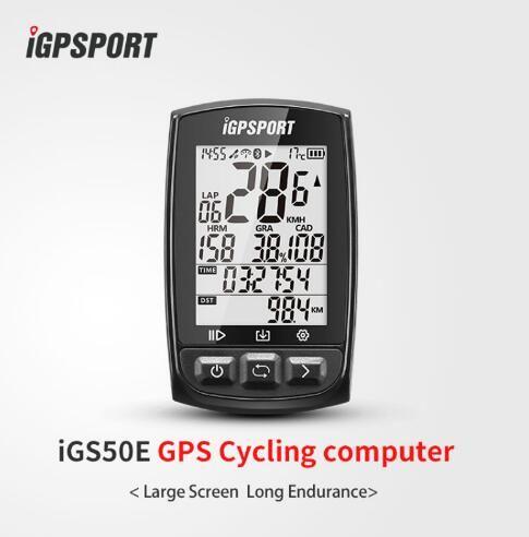 IGPSPORT IGS50E Mtb Fahrrad Computer GPS Wasserdicht IPX7 ANT + Wireless Radfahren Tachometer Bike Digitale Stoppuhr Zubehör