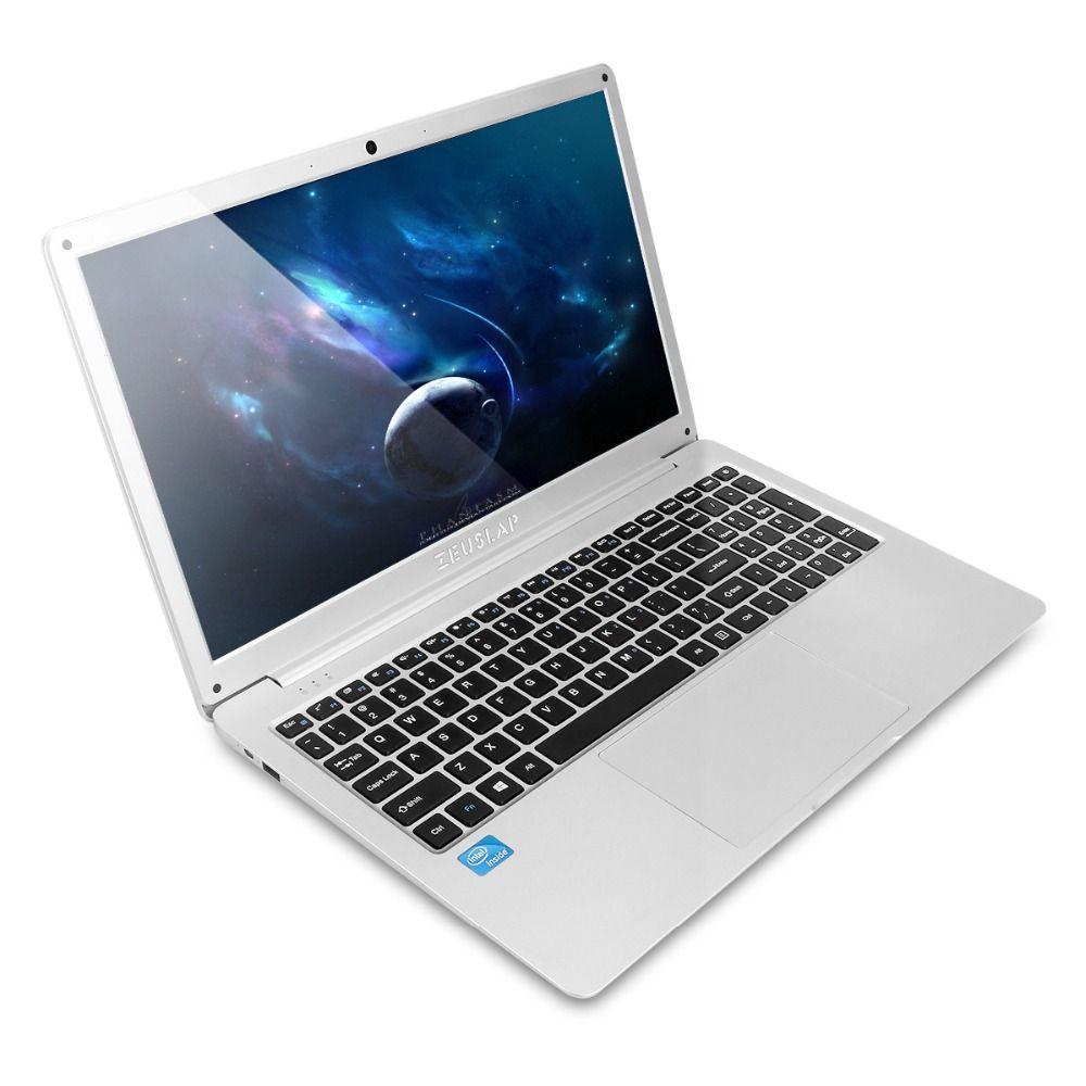 ZEUSLAP new 15.6 inch intel celeron n4100 8gb ram 500gb hdd 1920x1080p cheap computador netbook notebook computer caderno laptop