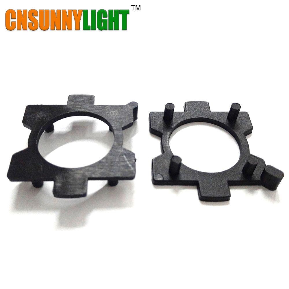 H7 LED Bulb Holders Adapters Lamp Base For Mazda GEELY SOUEAST V3 V5 V6 DX7 H7 LED Headlight Bulbs Holder Adapter Base