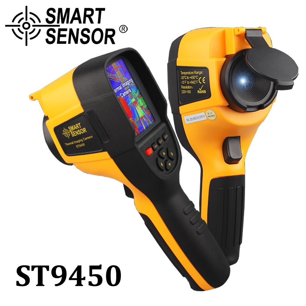Professionelle Handheld Infrarot-wärmebildkamera IR Digitale Thermische Imaging Kamera infrarot thermometer Detektor 300,000 pixel