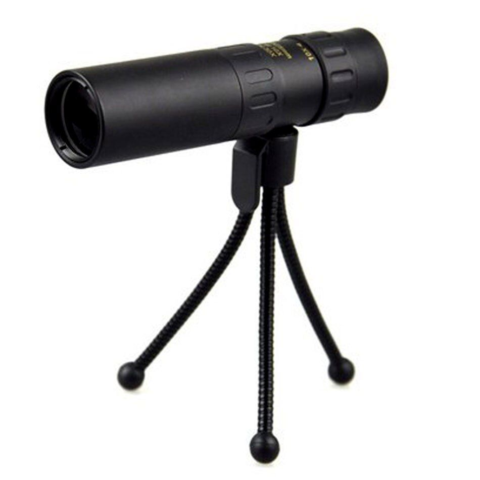 With tripod Nikula 10-30X25 Monocular <font><b>Zoom</b></font> Telescope high power quality Hd monoculars Spyglass outdoor hunting Original bak4 new