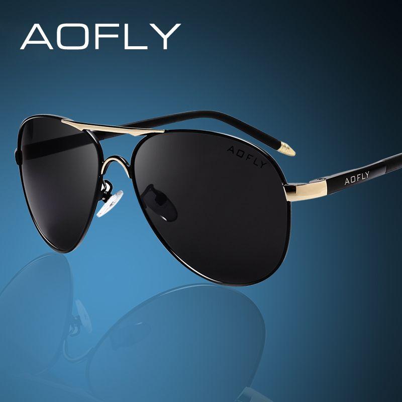 AOFLY marque hommes lunettes De soleil mode Cool polarisé sport hommes lunettes De soleil homme conduite lunettes De soleil pour hommes Vintage Gafas De Sol