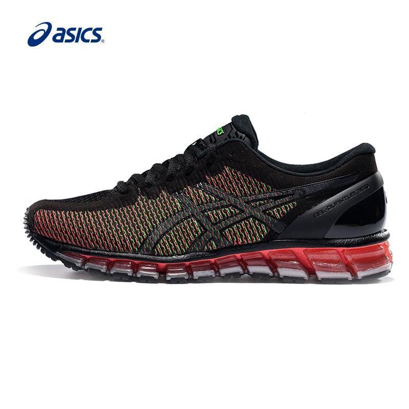 Оригинальные ASICS Для мужчин Цвет-изменение дышащая Подушки Кроссовки свет Вес спортивные Обувь Спортивная обувь Открытый Спортивная Обувь