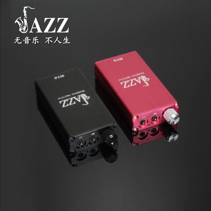 JAZZ R7.0 Protable Amplifier HIFI Fever Headphone Audio Power Amplifier Mini Portable Lithium DIY Earphone Headphone Amplifier