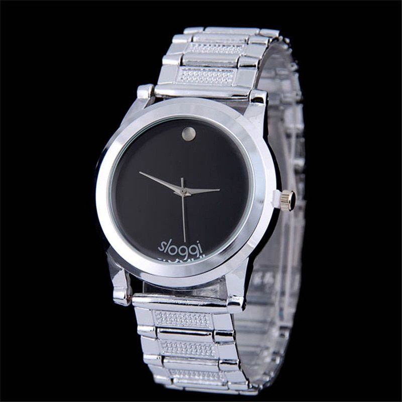 Supper Fun Hot relogio masculino Clock High Quality Mens Fashion Full Steel Watches Bracelet Full Stainless Steel Watches Feb06