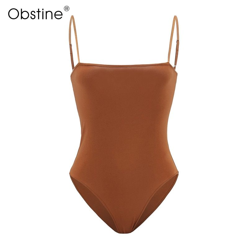Thin Strap Tank Top Women Vest Tops Hot Slim Casual Basic Top Cotton Woman Summer Bodycon Jumpsuit Sexy 2018 Bodysuit Sleeveless