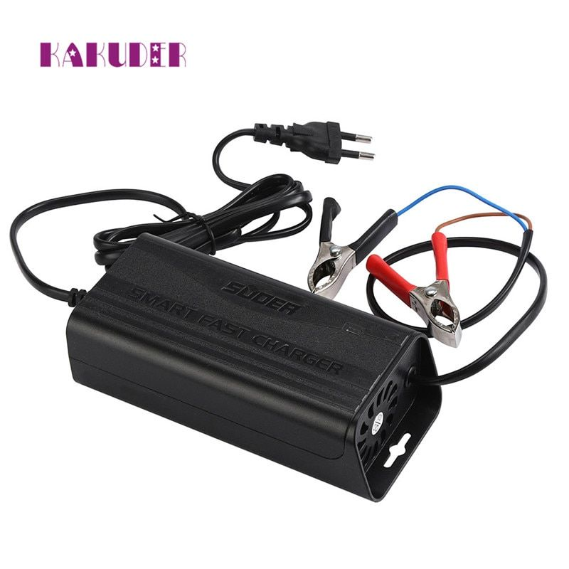 2017 new charger 12V 3A Smart Car Motorcycle Battery Charger Lead Acid Battery Charger 220V  drop shipping charger june12