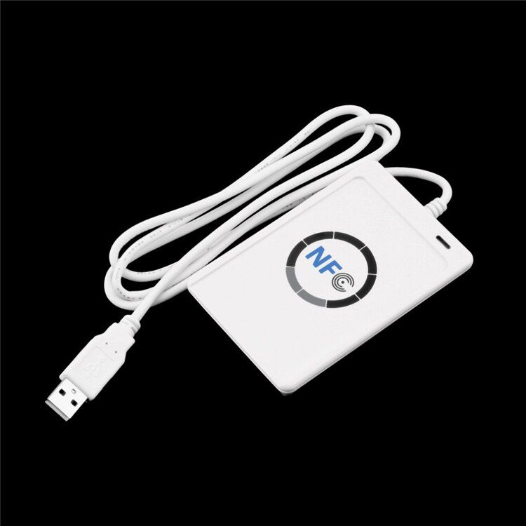 ACR122U A9 USB NFC Card Reader Writer For All 4 types NFC (ISO/IEC18092)+5pcs UID Changeable M1 S50 NFC Card+SDK Software