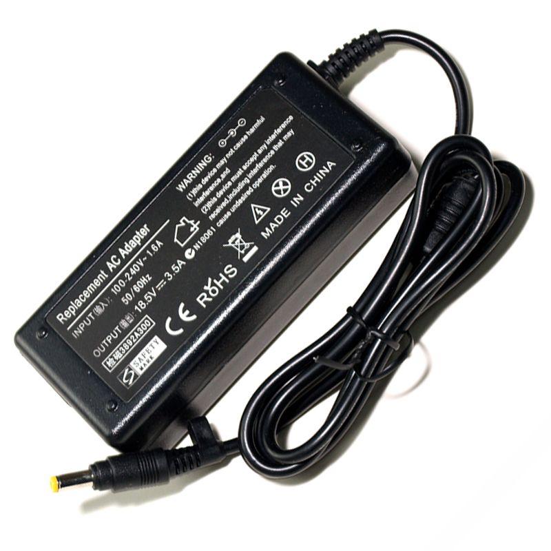 18.5 V 3.5A adaptateur secteur pour ordinateur portable Pour ordinateur portable hp 500 520 540 v3000 CQ510 511 515 516 V1000 ze2000 dv4000 Chargeur D'alimentation