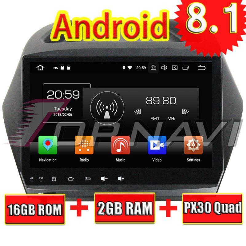 Topnavi Quad Core Android 8.1 Car Multimedia Player for Hyundai IX35 2011 2012 2013 2014 2015 Radio Stereo 2DIN GPS Navigation