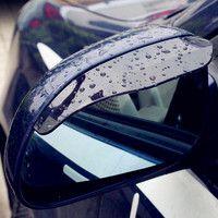 Новый 2017 автомобилей Универсальный дождь щит Стикеры Автомобильное зеркало заднего вида Стайлинг дождь Тенты Бесплатная доставка