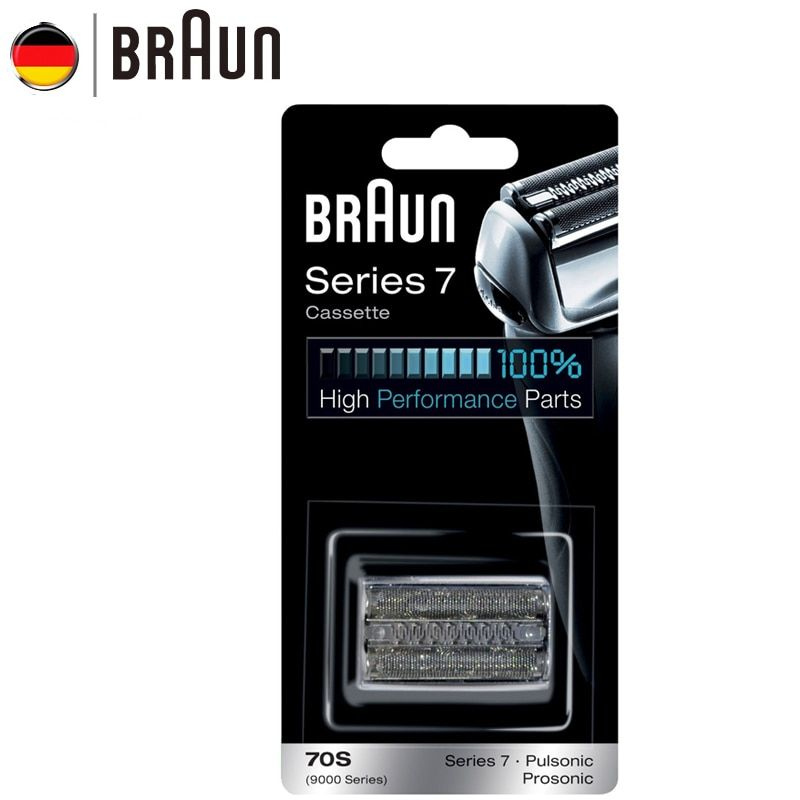Braun Electric Razor Replacement 70S Razor Cassette for Series 7 Shavers(720 760cc 790cc 9595 9781)