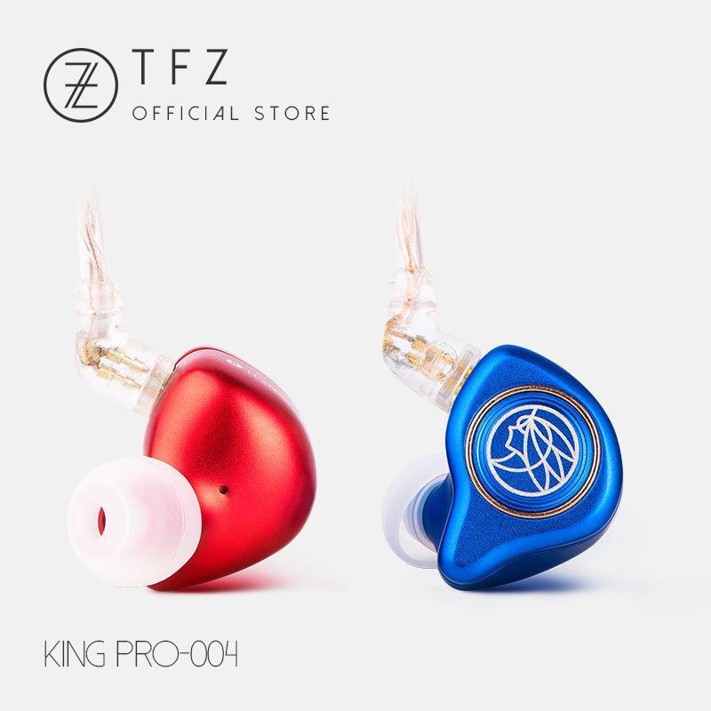 The Fragrant Zither/ KING PRO Neckband HIFI Monitor Earphones, TFZ In Ear sports Hifi Earbuds Bass Earphones Metal earphone