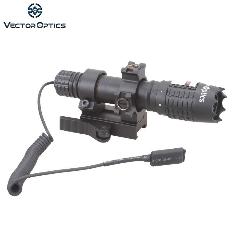 Vecteur optique Magnus vert Laser designateur lampe de poche vue avec baril monter commutateur à distance chargeur de batterie pour la chasse de nuit