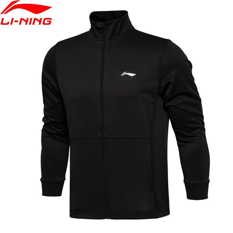 Li-Ning Men Running Jackets AT DRY Fitness Comfort Polyester LiNing Sports Jackets AWDL027 MWW1310