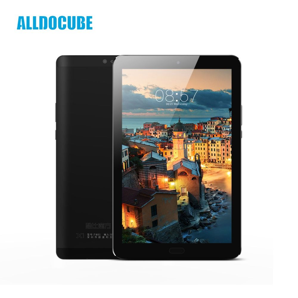 ALLDOCUBE X1 8.4 Inch 2560*1600 IPS 4G Phone Call Tablet PC MTK X20 Deca core Android 7.1 4GB RAM 64GB ROM 13MP Dual SIM GPS OTG