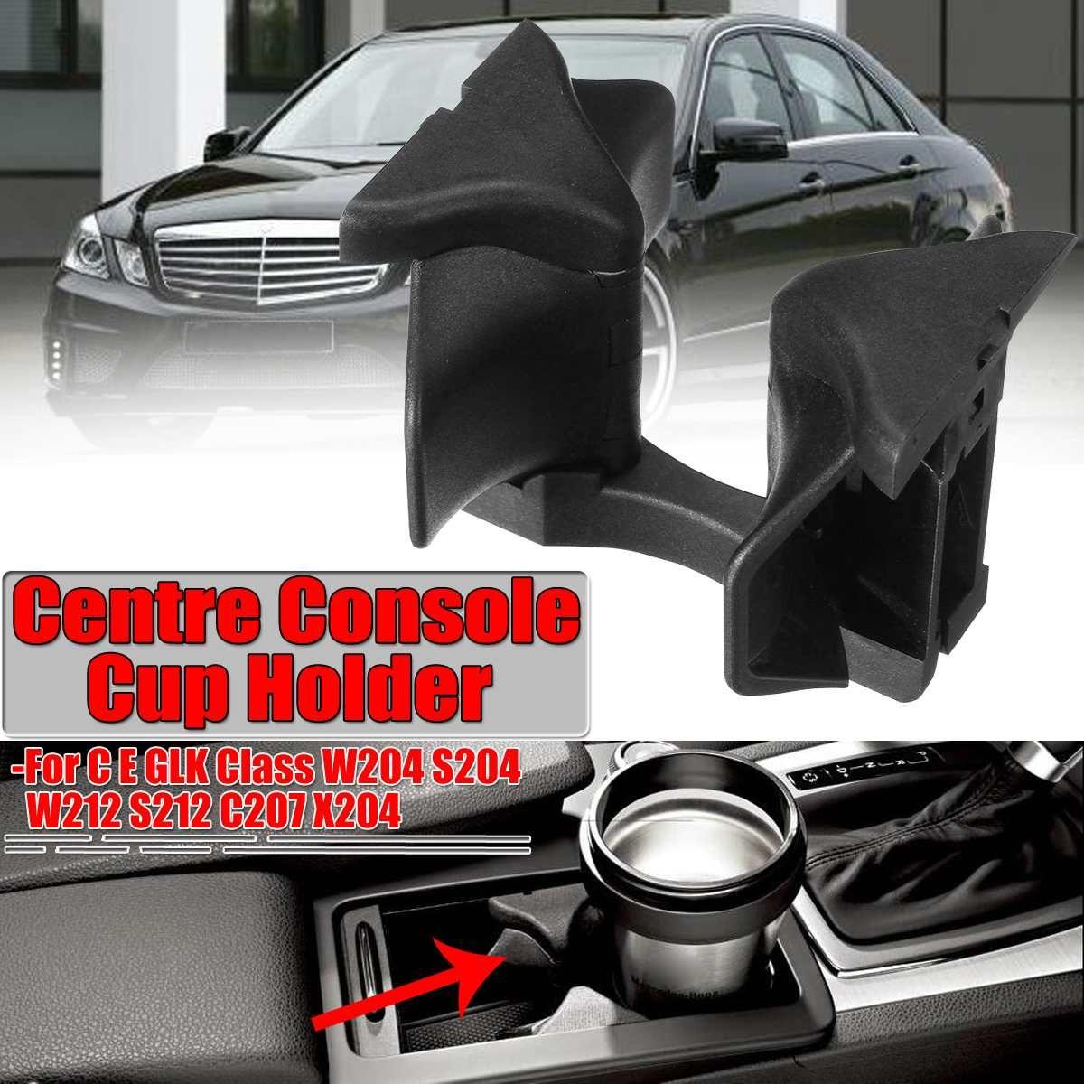 W204 Auto Center Konsole Wasser Tasse Halter Einfügen Teiler Bord Für Mercedes Für Benz C E GLK Klasse W204 S204 w212 S212 C207 X204