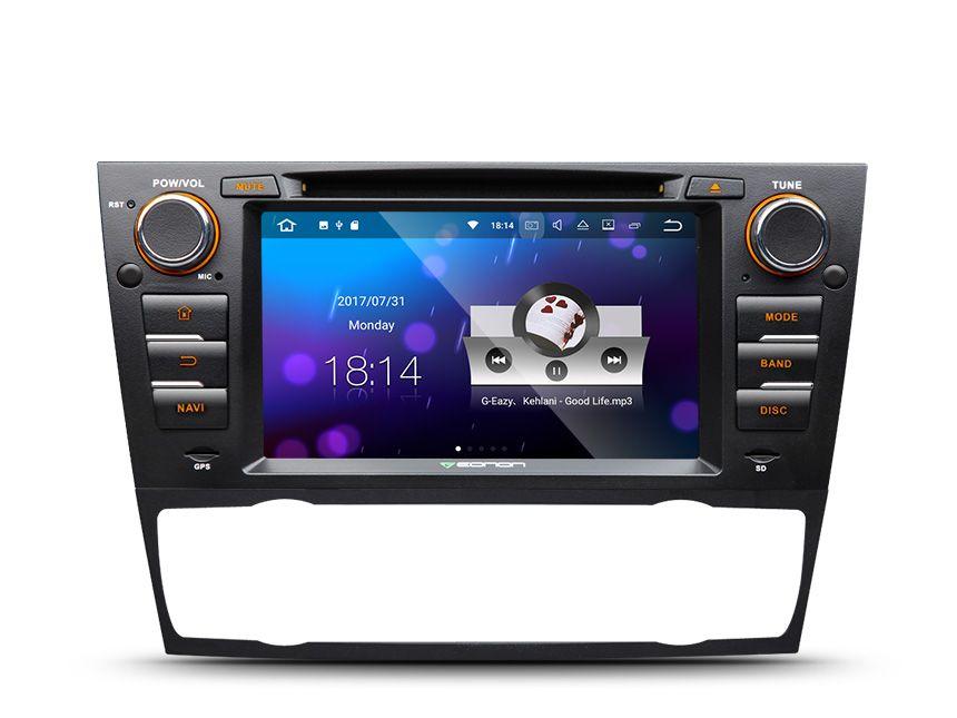 7 Quad Core Android 7.1 OS Auto DVD für BMW 3 serie E90/E91/E92/E93 2005-2012 mit 2 GB RAM & Split-Screen Multi-multi-tasking-ihren unterstützung