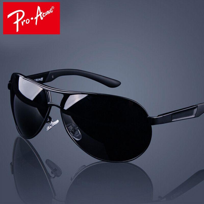 Pro Acmé Classique Hommes Polarisées lunettes de Soleil Polaroid Voiture Pilote Lunettes De Soleil Homme Lunettes de Soleil Lunettes UV400 Haute Qualité CC0444