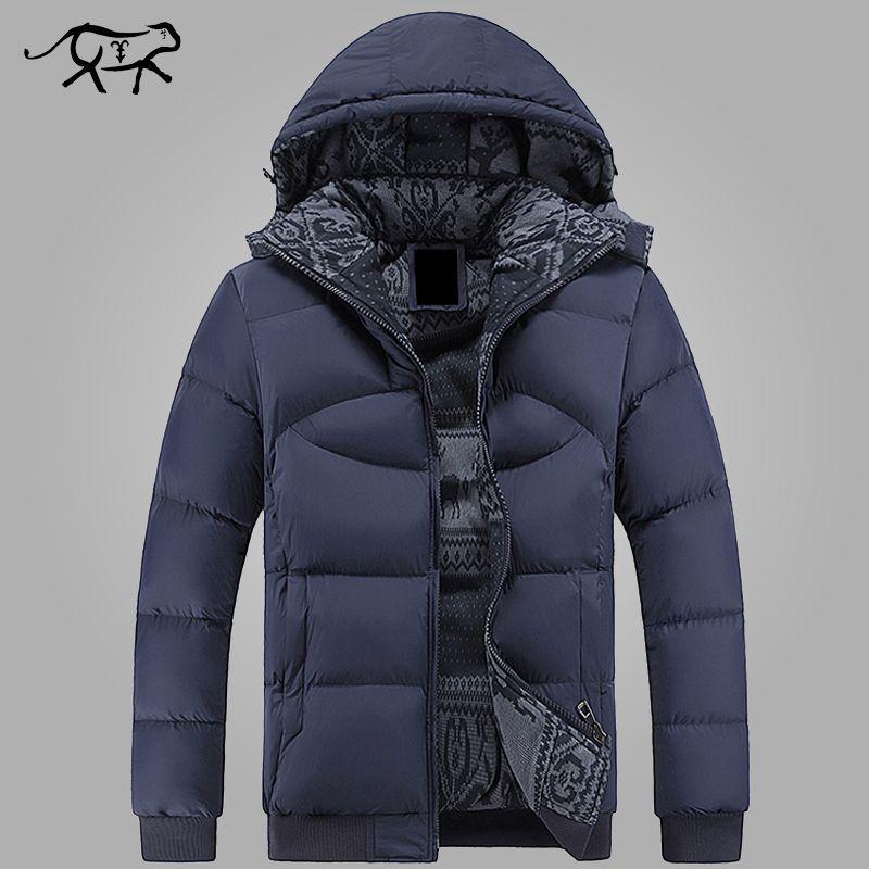 Nouvelle marque vêtements hiver veste hommes décontractée Parkas veste épais hommes chaud à capuche hommes manteaux et vestes mode pardessus Hommer