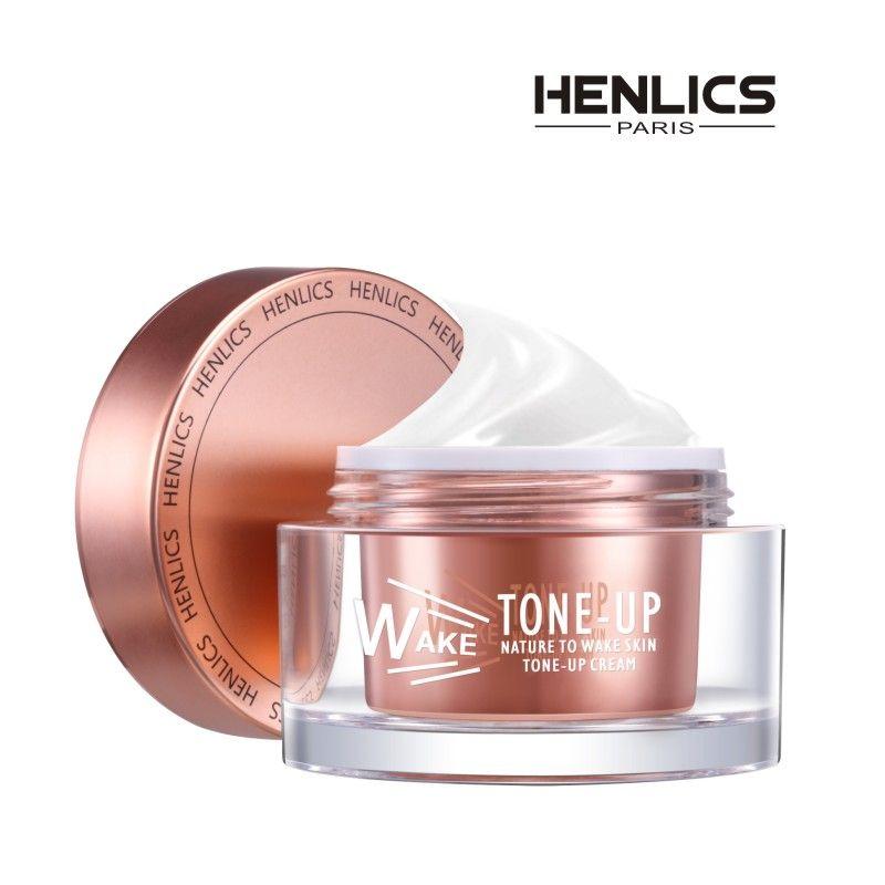 FRANCE HENLICS Nutritious Skin Care Whitening CC Cream Moisturizing Women Face Brighten Primer Makeup Cream 50ml
