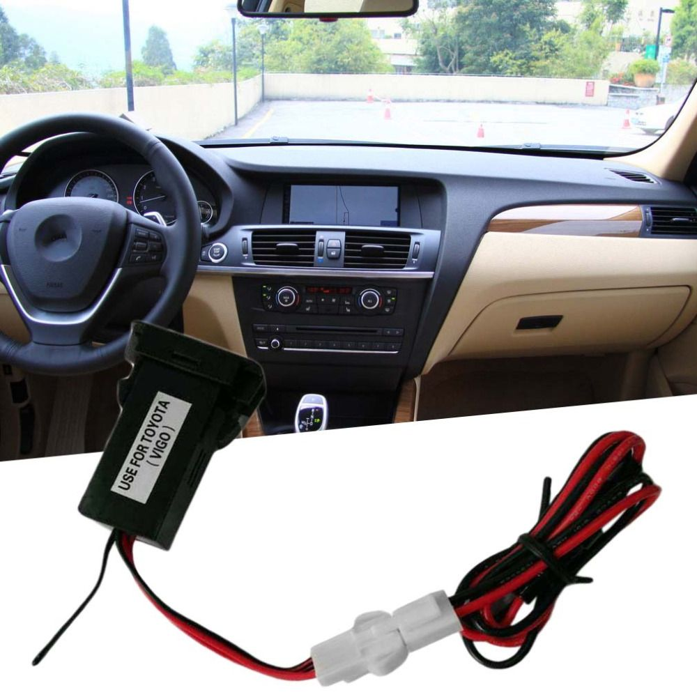 Special Dedicated Car 5V 2.1A USB Interface Socket Charger and USB Audio input Socket use for TOYOTA Hilux VIGO NEW