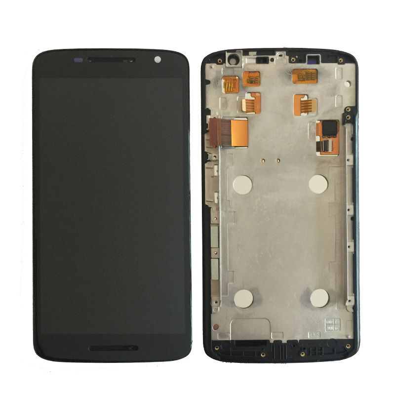 For Motorola MOTO X play x3 xt1561 XT1562 XT1563 LCD Display With Touch Screen Digitizer Assembly with frame free shipping