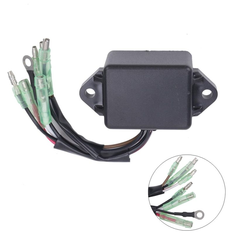 CDI Ignition Control Module COIL Electronic Power Pack For Yamaha 8HP 9.9HP 15HP 20HP 25HP Outboard 2 Stroke Engines Motor #5055