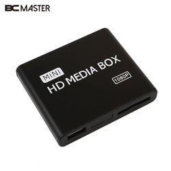 BCMaster 1080P Media Player Media Box USB With HDMI AV MKV AVI MP4 Support SD Card
