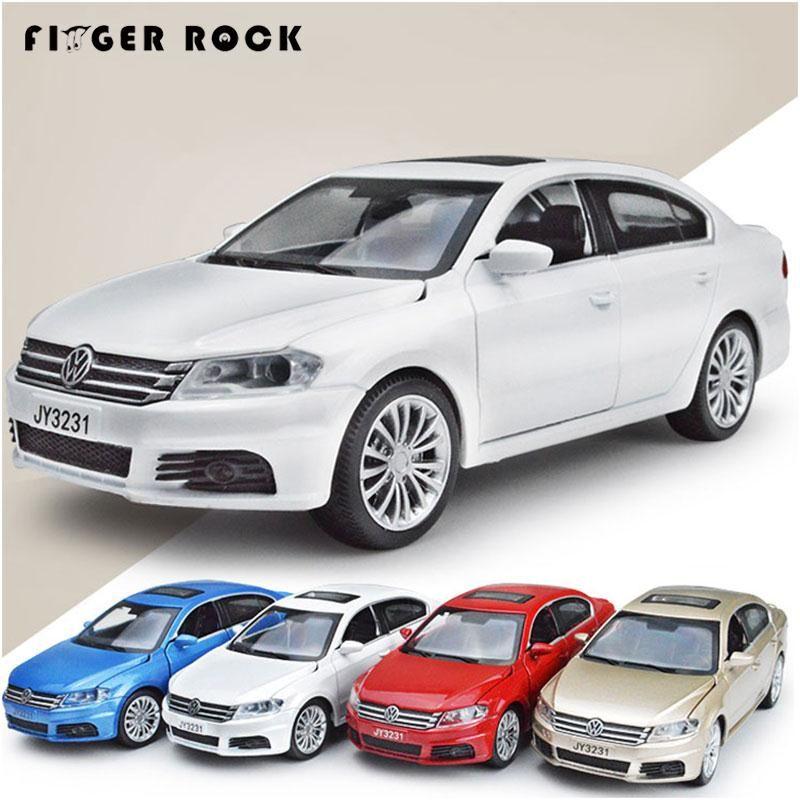 Volkswagen LAVIDA voiture modèle 1:32 moulé sous pression retirer métal alliage voiture Simulation acousto-optique voitures jouets Collection Oyuncak Araba