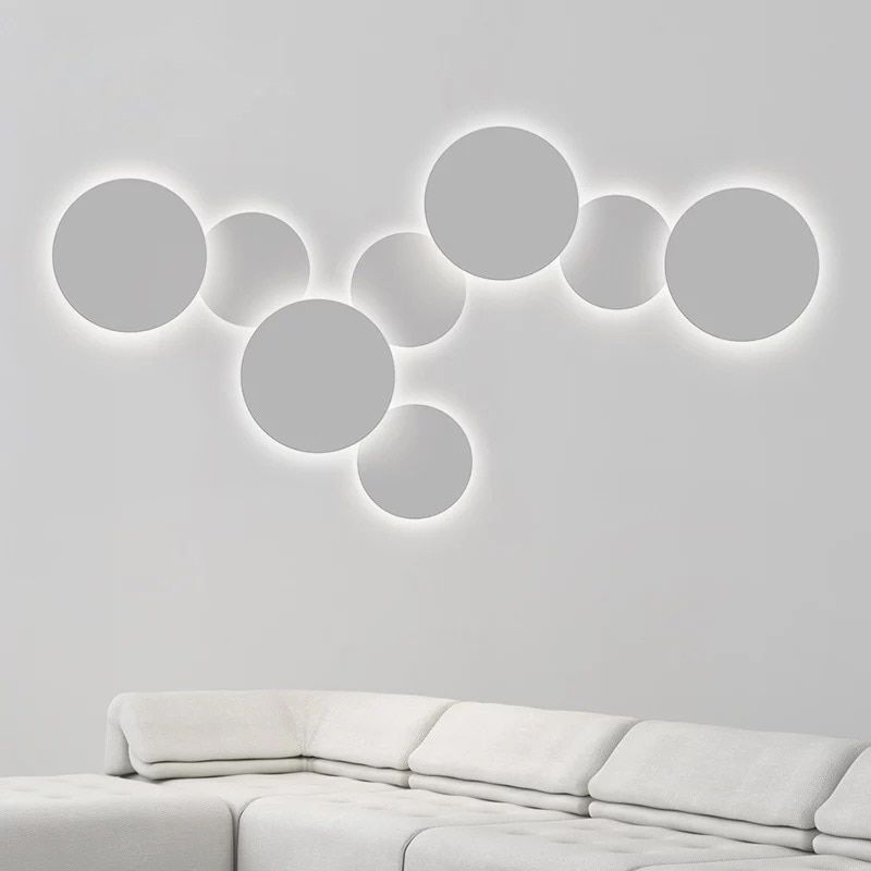 Modern Indoor LED Wall Lamps Creative Aluminum Wall Lights Bedroom Bedside Lamp 4W/18W/24W LED Decoration Lighting for Home