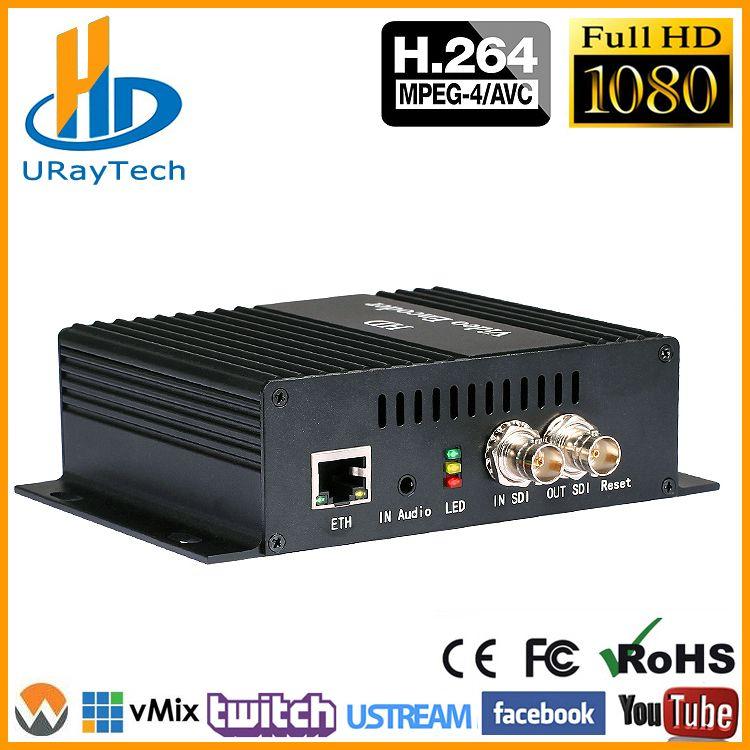 DHL Freies Verschiffen H.264 SD HD 3g SDI Zu IP Encoder Video Streaming Encoder H264 IPTV Live-Streaming RTSP RTMP Encoder
