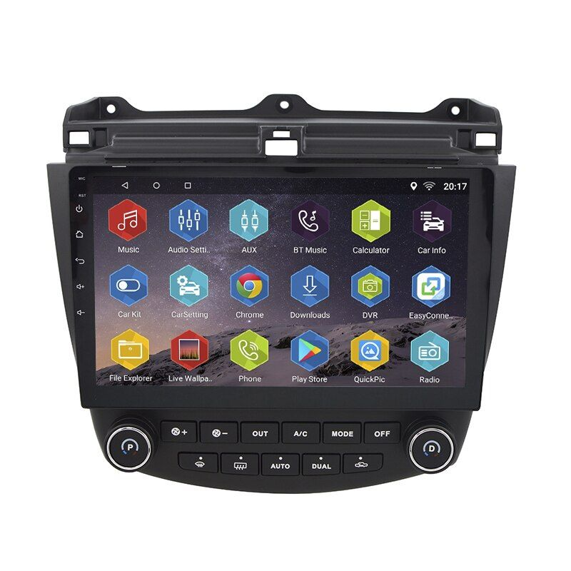 Android 7.0.0 GPS Navigation 10.1 Inch for Honda Accord 7 2003-2007 Car Radio With 1080P Video Bluetooth Support