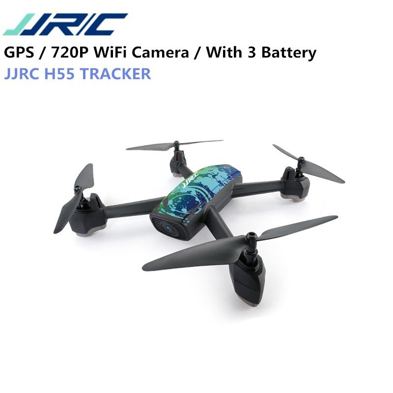 JJRC H55 TRACKER WIFI FPV With 720P HD Camera GPS Positioning RC Drone Quadcopter Camouflage RTF VS Eachine E58 H37