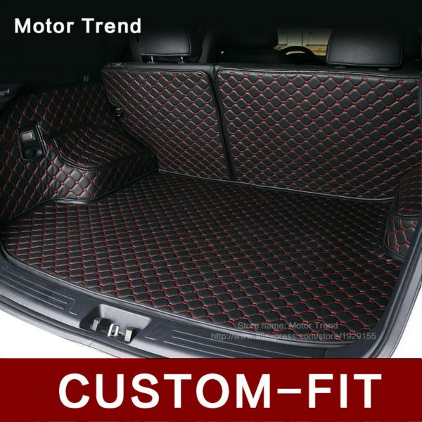 Custom fit car trunk mat for BMW 3/4/5/6/7 GT X1 X3 X4 X5 X6 3D car-styling all weather tray carpet cargo rugs liner