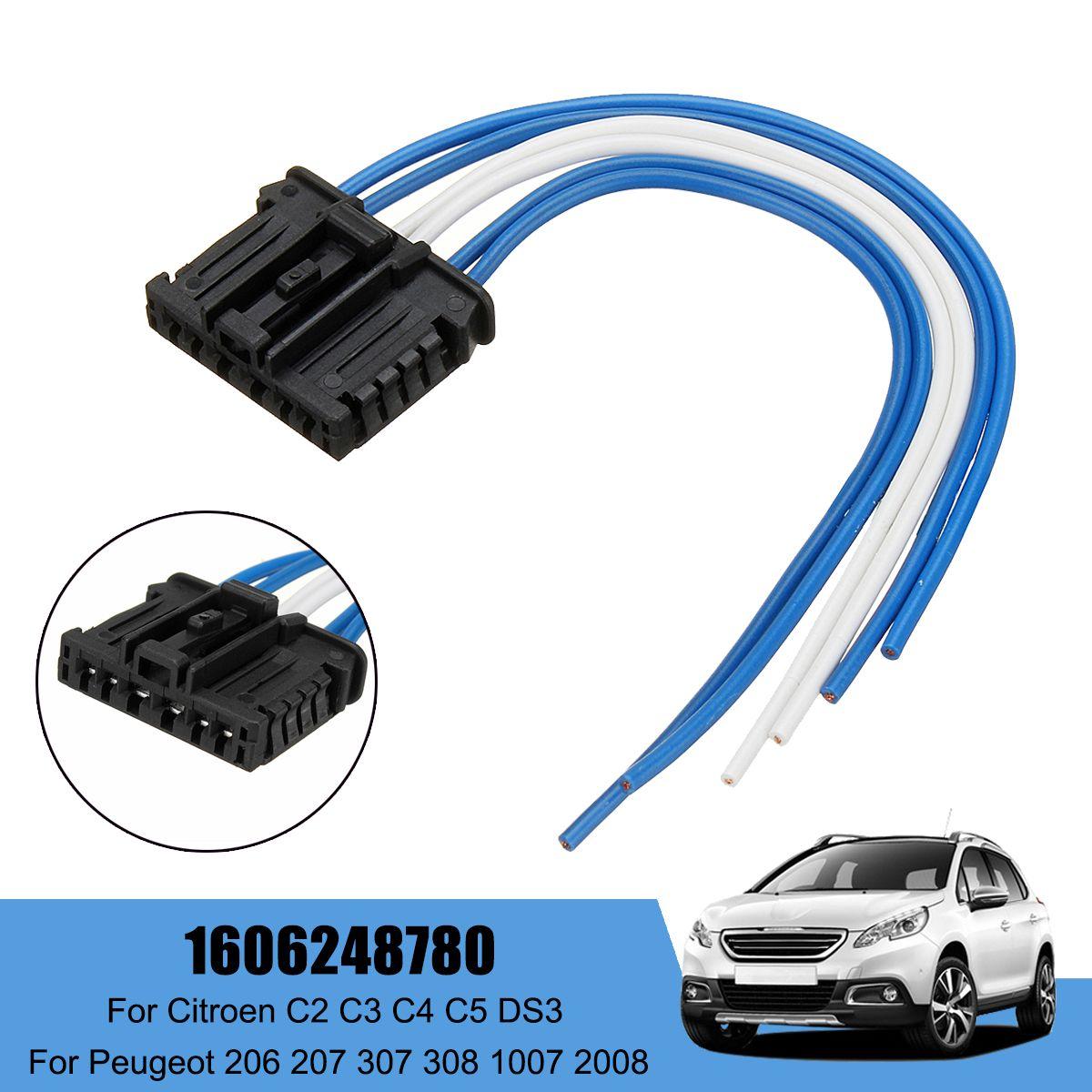 Auto Hinten Schwanz Licht Webstuhl Harness Für Peugeot 1007 207 für Citroen C2 C3 C4 C5 DS3 1606248780
