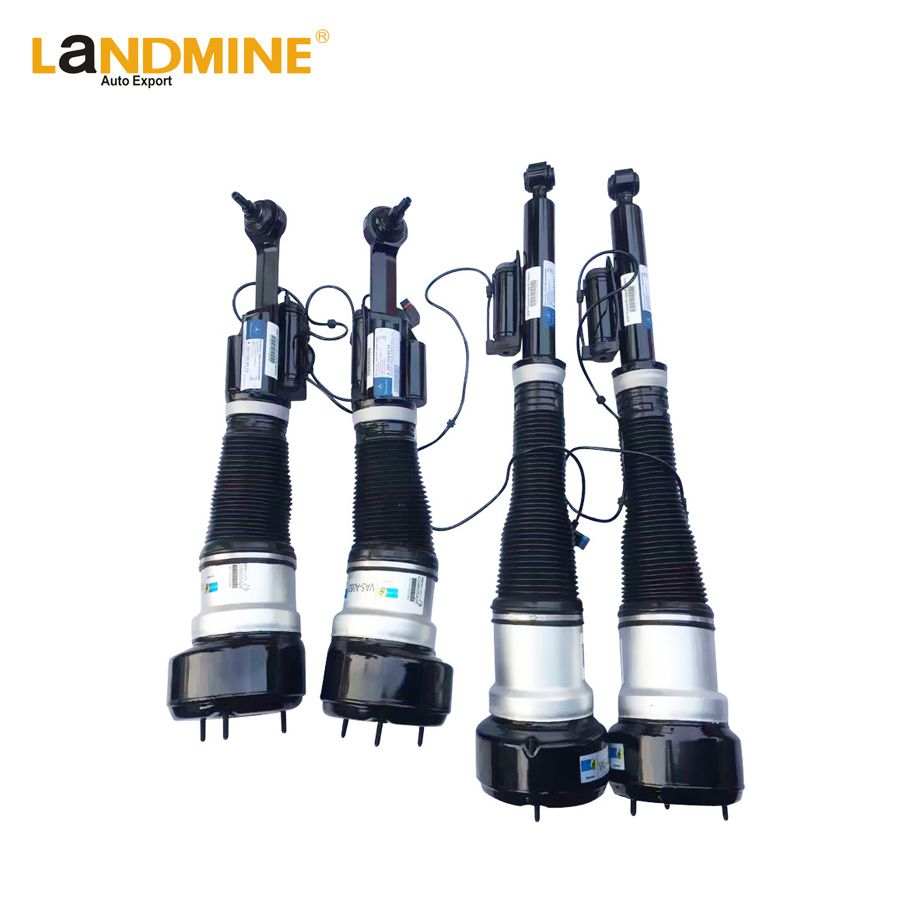 Free Shipping 4PCS Mercedes W221 CL550 Front and Rear 4matic Suspension Air Ride Assembly 2213200438(538) 2213205613(513)