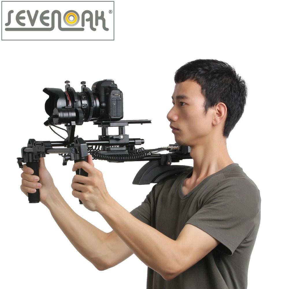 Sevenoak SK-MHF04 Memory Function Motorized Follow Focus & Zoom Control Shoulder Rig for Canon 5D2 5D3 6D 7D 70D Nikon Sony DSLR