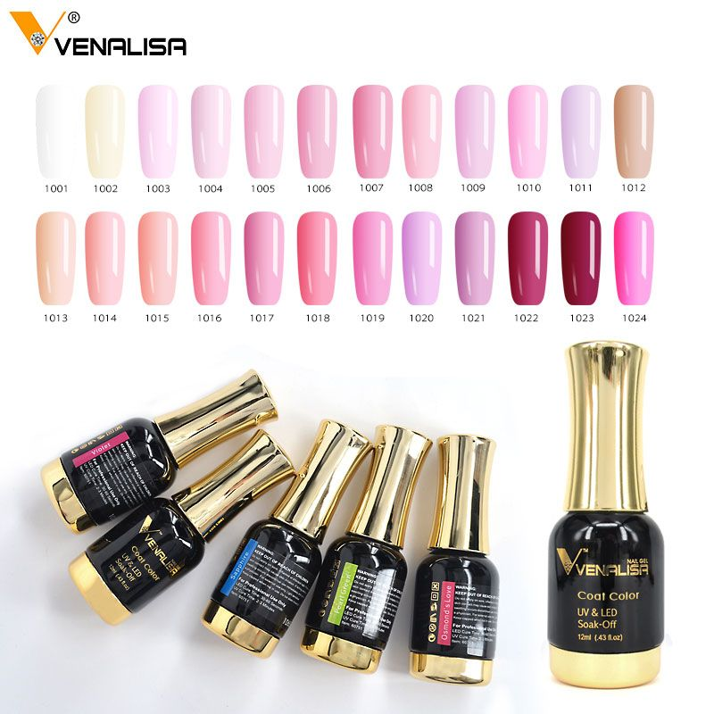 VENALISA Nail Painting Gel Pure Color UV LED Gel Kits CANNI Factory Nail Art Salon Recommended Paint Gel Lacquer Set