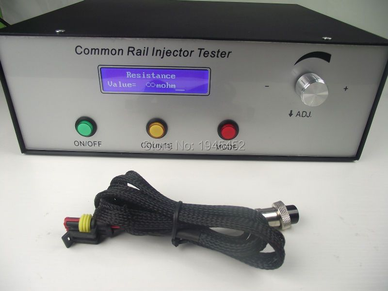 2018 new type CRI200 High pressure common rail injector tester Support magnetic and piezo injectors,common rail tool