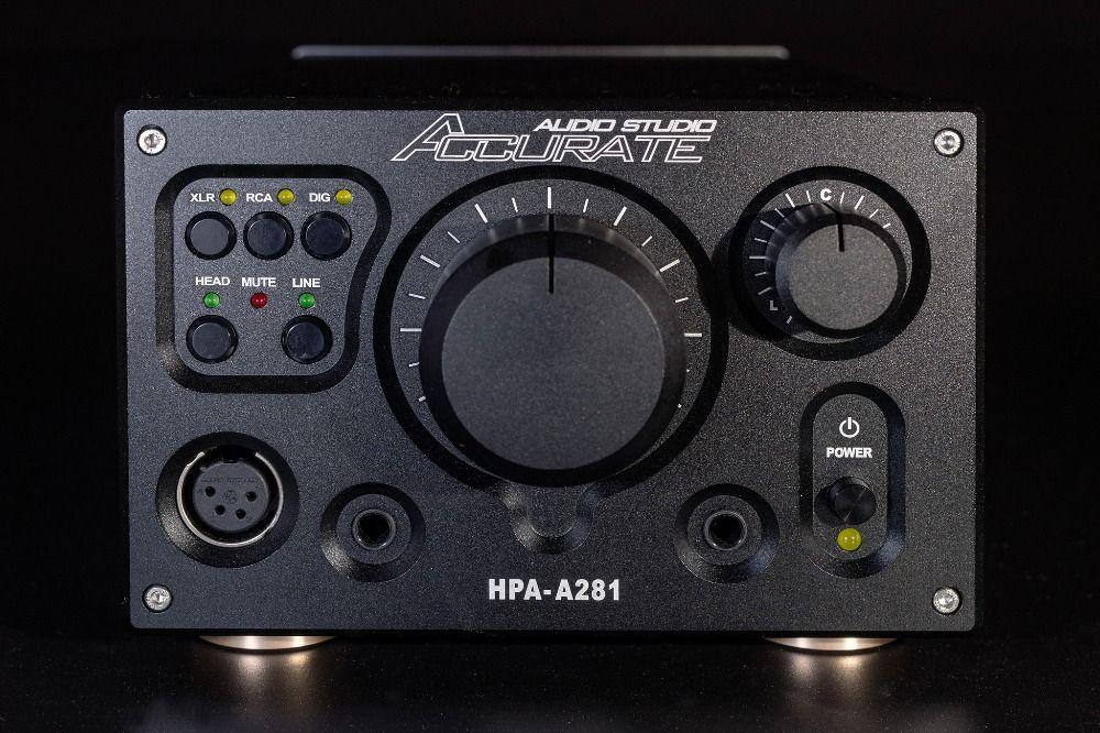 HPA-A281 Hallo-end Ausgewogene kopfhörer kopfhörer Verstärker AMP Digitale XLR/RCA Stereo Kopie/Referenzielle Violectric HPA V281 PREAMP