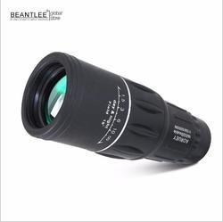 16x52 Zoom mini Monocular Telescope Black High Quilaty Single Focus Optic Lens Travel Spotting Scope HD Monoculars telescopes