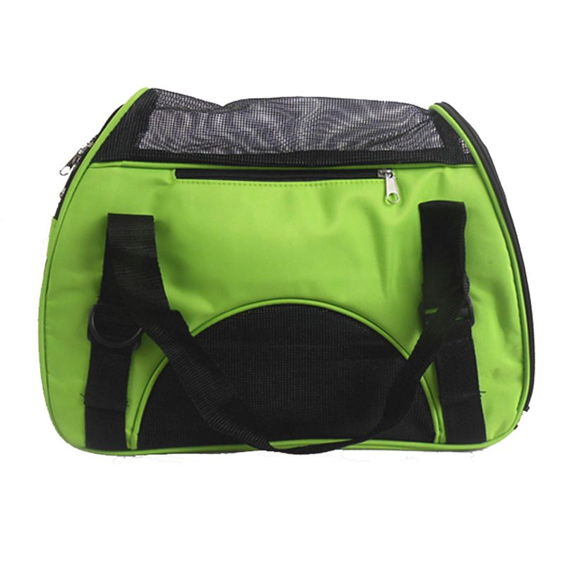 Folding Pet Carry Bag Oxford Breathable Mesh Cat <font><b>Carriers</b></font> Outside Portable Dog Travel Bag Waterproof